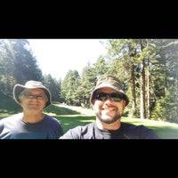 Photo taken at Agate Beach Golf Course by joshua p. on 7/30/2015
