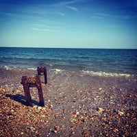 Photo taken at Pagham Beach Cafe by Tom B. on 6/7/2015