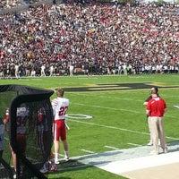 Photo taken at Ross-Ade Stadium by Josiah B. on 10/12/2013