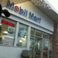 Photo taken at Mobil by Amanda C. on 1/11/2013