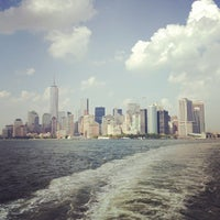 Photo taken at Staten Island Ferry Boat - John A. Noble by Somesnm on 7/20/2013