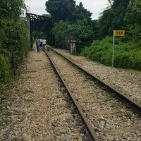 Photo taken at Railway Bridge (Upper Bukit Timah Road) by Azizul Haizum Rahmat on 1/15/2017