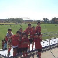 Photo taken at 郡山市営西部サッカー場 by 森下 亮. on 10/11/2014