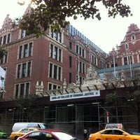 Photo taken at Lloyd Sealy Library, John Jay College of Criminal Justice by Robin D. on 11/28/2012