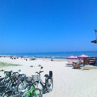 Photo taken at Lido d'Abruzzo spiaggia by angelo s. on 7/27/2013