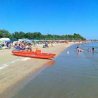 Photo taken at Lido d'Abruzzo spiaggia by angelo s. on 8/19/2013