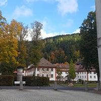 Photo taken at Sankt Blasien by Shani B. on 10/18/2016