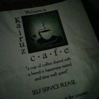 Photo taken at Kairuz Cafe by Sha A. on 6/24/2013