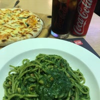 Photo taken at Capricciosa Pasta & Pizza by Perry H. on 3/31/2018