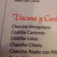 Foto tomada en Restaurant Lotus Flower por Mercedes el 12/28/2012