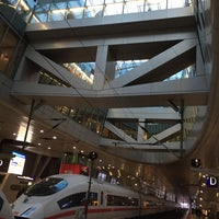 Photo taken at Frankfurt Airport Int'l Railway Station by Harald H. on 3/16/2015