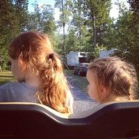 Photo taken at Drummer Boy Camping Resort by Julianna W. on 8/30/2013