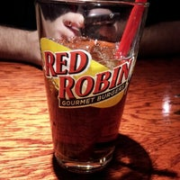 Photo taken at Red Robin Gourmet Burgers by Crystal S. on 12/31/2012