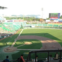 Photo taken at Incheon SK Happy Dream Park by Minsik K. on 6/9/2013