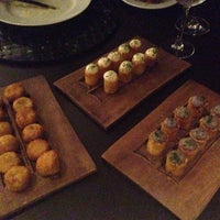 Photo taken at Restaurante Arola Vintetres by Rachel B. on 1/14/2014