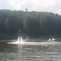 Photo taken at Flyboard by Katrin D. on 8/21/2016