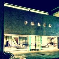 Photo taken at Prada by Tim G. on 3/17/2013