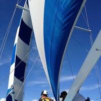 Photo taken at Kepoikai Catamaran by Kelii M. on 10/20/2012
