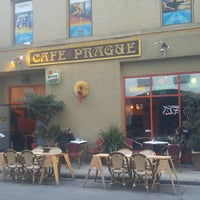 Photo taken at Cafe Prague by Michal Š. on 10/5/2016
