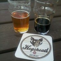 Photo taken at Hogshead Brewery by Erin W. on 7/8/2013