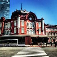 Photo taken at Tokyo Station by Marina Z. on 4/22/2013