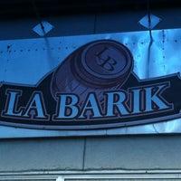 Photo taken at La Barik by Pierre-Michel M. on 5/12/2013