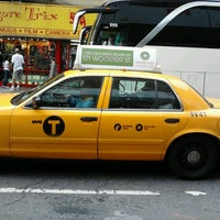 Photo taken at NYC Taxi Cab by Cristiane P. on 9/29/2012
