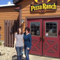 Photo taken at Pizza Ranch by Janelle N. on 5/3/2014