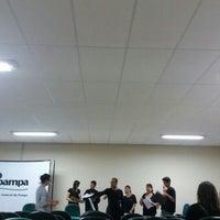Photo taken at Unipampa - Auditório by Julio B. on 3/9/2016
