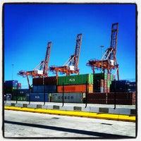 Photo taken at Terminal de Contenedores de Tenerife by Juanma C. on 7/24/2013