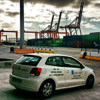 Photo taken at Terminal de Contenedores de Tenerife by Juanma C. on 9/2/2014