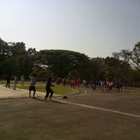 Photo taken at Saparua Running Track by nenden h. on 9/27/2013