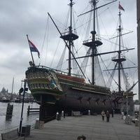 Photo taken at Het Scheepvaartmuseum by Eleonora A. on 4/1/2017