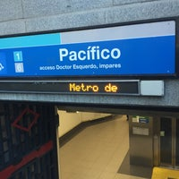 Photo taken at Metro Pacífico by Omar A. on 12/23/2015