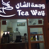 Photo taken at Tea Way وجهة الشاي by Omar A. on 9/8/2017