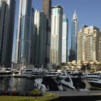 Photo taken at Dubai Marina Walk by Omar A. on 10/19/2012