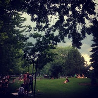 Photo taken at Parc Sir-Wilfrid-Laurier by Jean-Francois L. on 6/24/2013