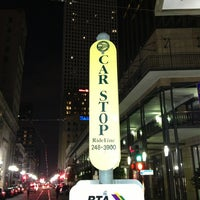 Photo taken at St. Charles Avenue Streetcar by Julianna O. on 1/13/2013