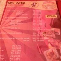 Photo taken at Mr.teto by Anindya W. on 4/4/2013