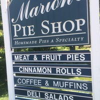 Photo taken at Marion's Pie Shop by Jason M. on 7/23/2016