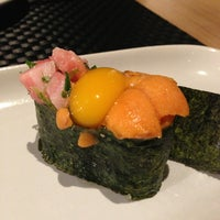 Photo taken at Honmono Sushi by Seven P. on 1/21/2013