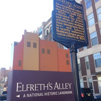 Photo taken at Elfreth's Alley by Calvin R. on 3/5/2017