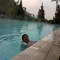 Photo taken at Pemandian Air Panas - Hotel Duta Wisata Guci by Ary pratama P. on 4/5/2014