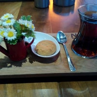 Photo taken at Neva Coffee & Bakery by Ahmet B. on 11/30/2014