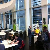 Photo taken at University of Salford (MediaCityUK Campus) by Stefan v. on 11/25/2012