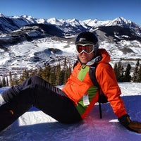 Photo taken at Crested Butte Mountain Resort by Laurence N. on 1/20/2013
