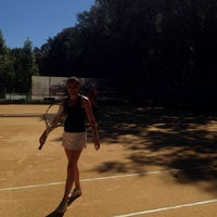Photo taken at Central Park Tennis Club by OLGA P. on 8/28/2016