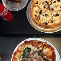 Photo taken at pie five pizza company by Heidi W. on 9/27/2014