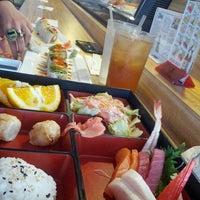 Photo taken at Domo Japanese Restaurant & Sushi Bar by Leo H. on 6/6/2013
