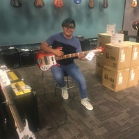 Photo taken at Guitar Center by Monique G. on 7/11/2017